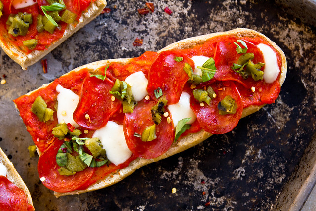 Homemade Frozen French Bread Pizza