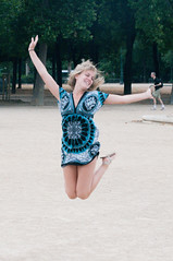 Jumping in Paris