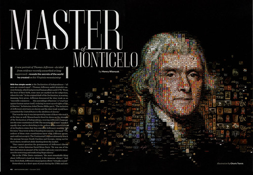 Thomas Jefferson: The Master of Monticelo (for Smithsonian magazine)