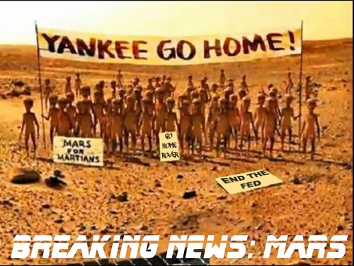 BANZAI7 BREAKING NEWS MARS by Colonel Flick