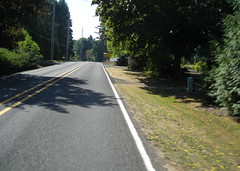Bluff Road, just south of Sandy