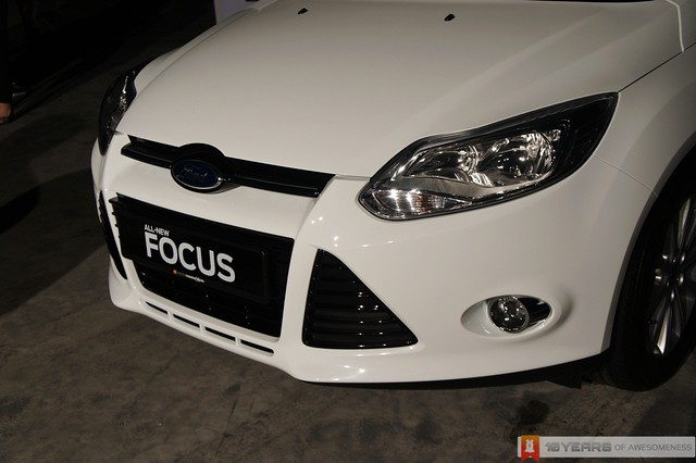 The New 2012 Ford Focus