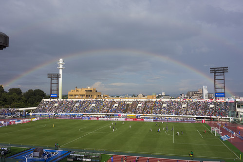 the double rainbow in the game of Nadeshiko League
