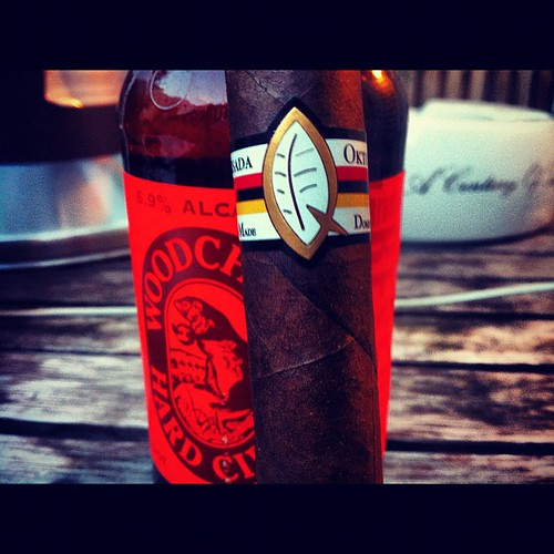 Smoking a @terencereilly82 Oktoberfest
