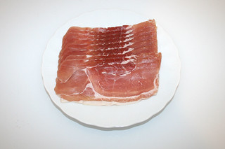 04 - Zutat Räucherschinken / Ingredient smoked ham