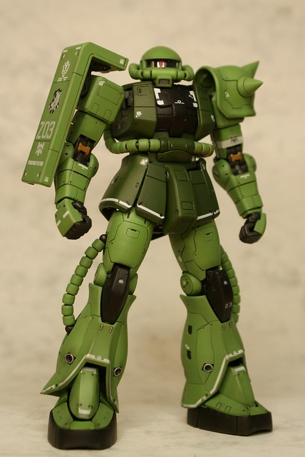 "Real Grade 1/144 - MS-06F Zaku II ""Elite Guard"" - Completed 2 -"