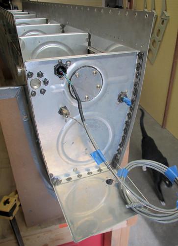 Left Fuel Tank Inboard Aft Rib Installed