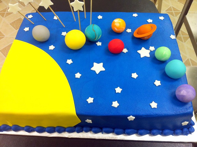 Solar System Cake I - Pics about space