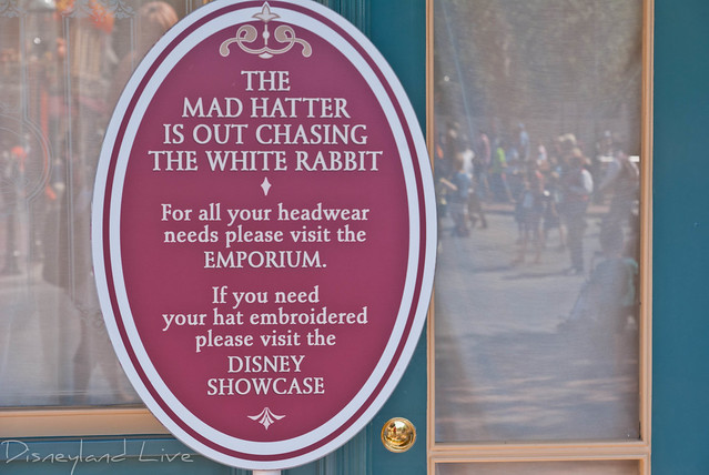 Disneyland Mad Hatter Refurbishment