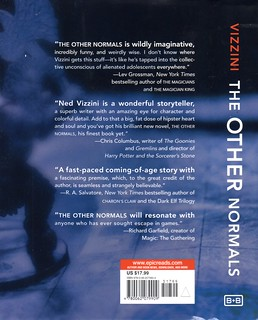 The Other Normals Final Back Cover