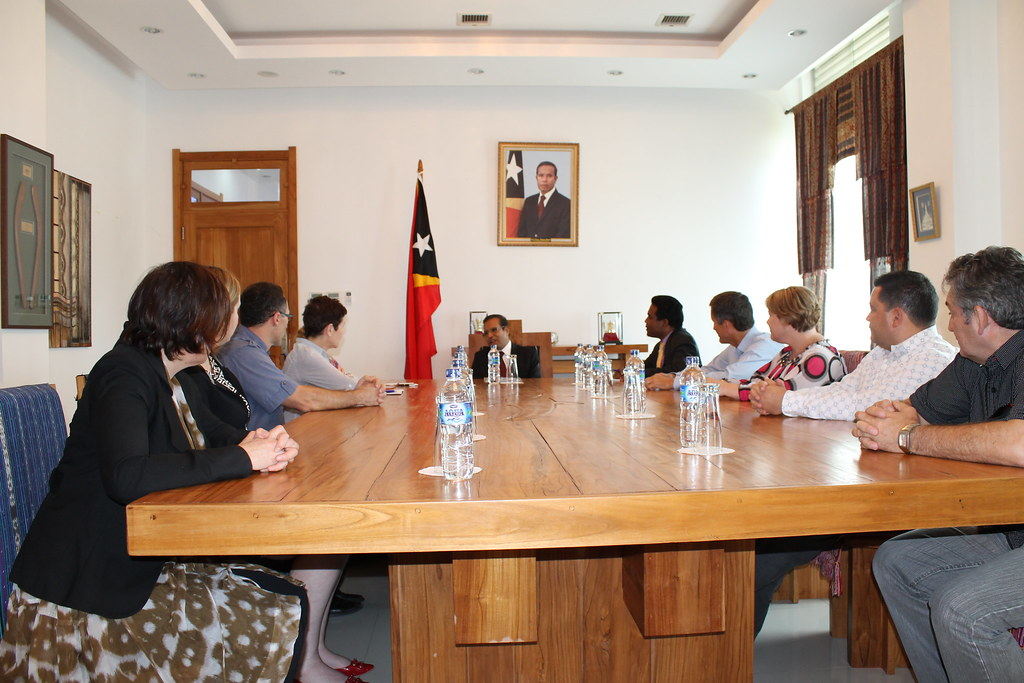 Richard Di Natale visit to East Timor with the Global Fund