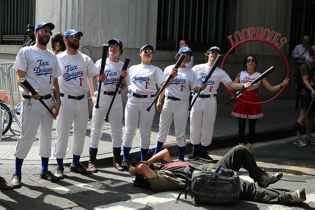 Tax Dodgers at Occupy Wall Street