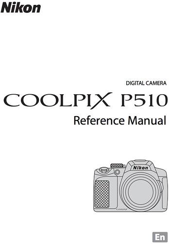 Nikon P510 Manual