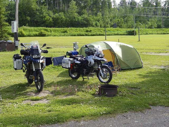 Bikes Camp vanderhoof