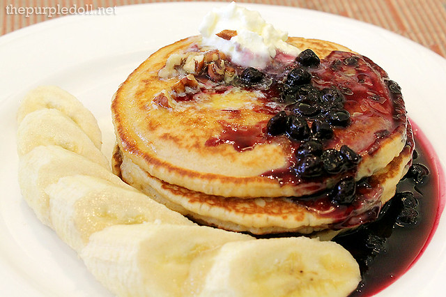 Wholewheat Buttermilk Pancakes P295