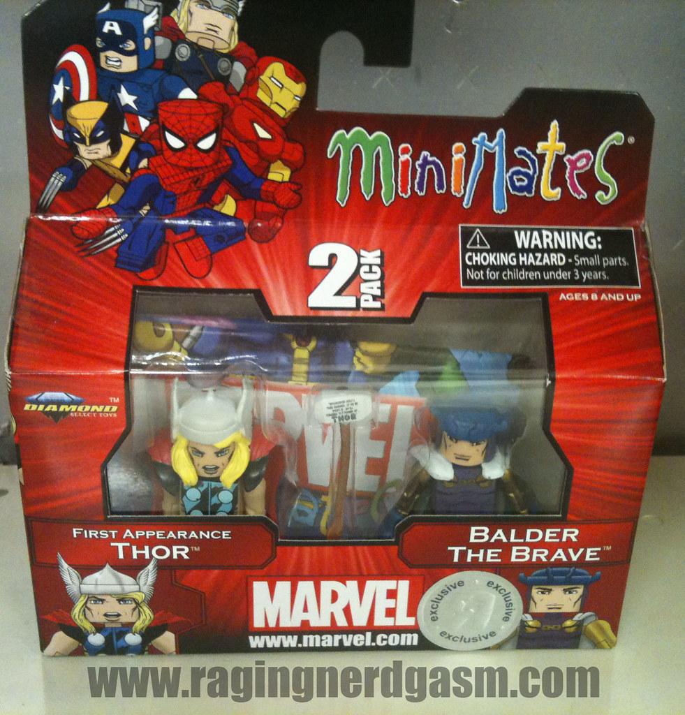Minimates Marvel 001