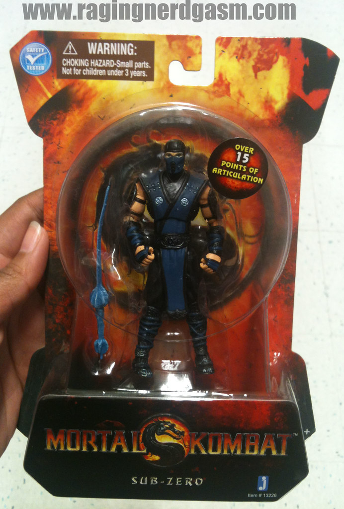 Mortal Kombat Action figures by Jazwares Sub-Zero 004