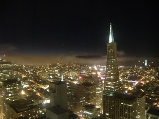 San Francisco night-time