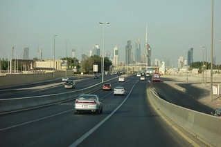Downtown Kuwait City Skyline