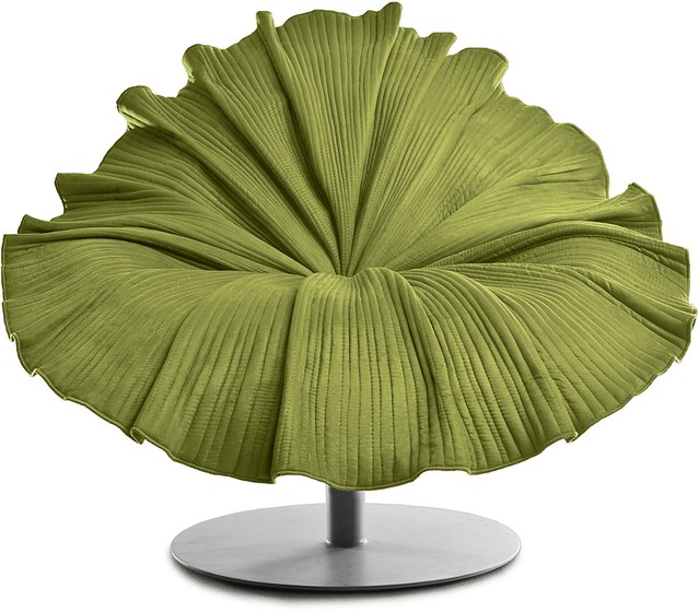Bloom Easy Armchair lime green
