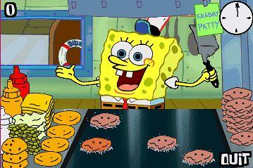 spongebob cooking games krabby patty   lamb cooking