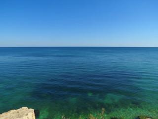 Image of  Plaja Eforie  near  Eforie Nord. landscape blacksea mareaneagra mareaneagră
