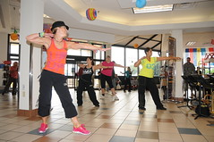 zumba, room, performing arts, entertainment, dance, person, physical exercise,