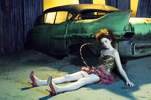 Lily Cole - Miles Aldridge
