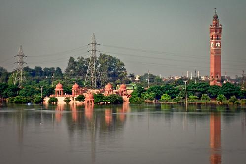 india lucknow uttarpradesh hussainbadcloktower