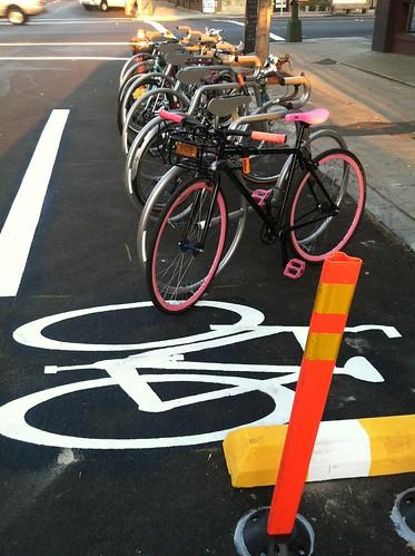 Bike Corral at The Linkery