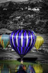 The Annual Snowmass Balloon Festival, held Sept. 14-16, 2012, is one of the highest-altitude hot air balloon events in the U.S.,