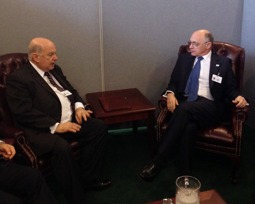 OAS Secretary General Meets with Foreign Minister of Argentina