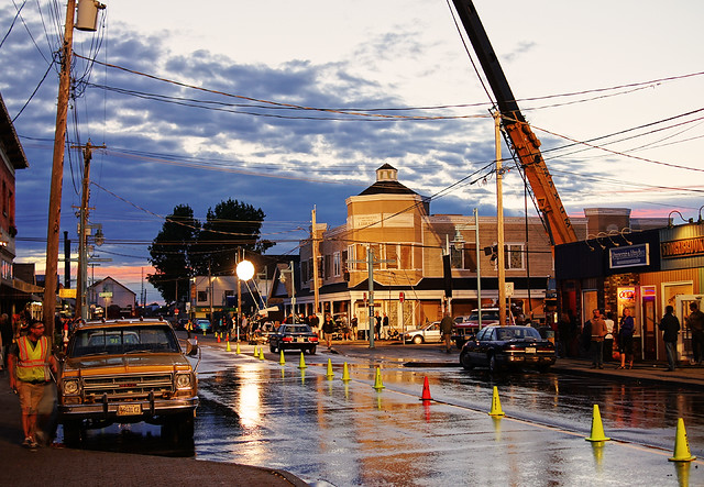 "TV Drama ""Once Upon A Time"" Filming in Richmond Steveston"