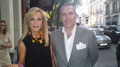 Carmen Lomana y Luis Montalvo