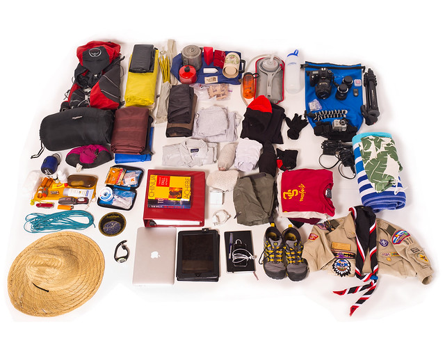 Everything and adult needs for Boy Scout Camp