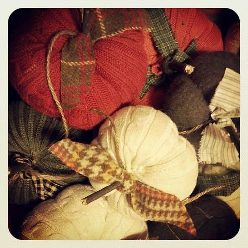 Sweater pumkins by thefarmerswifeiniowa