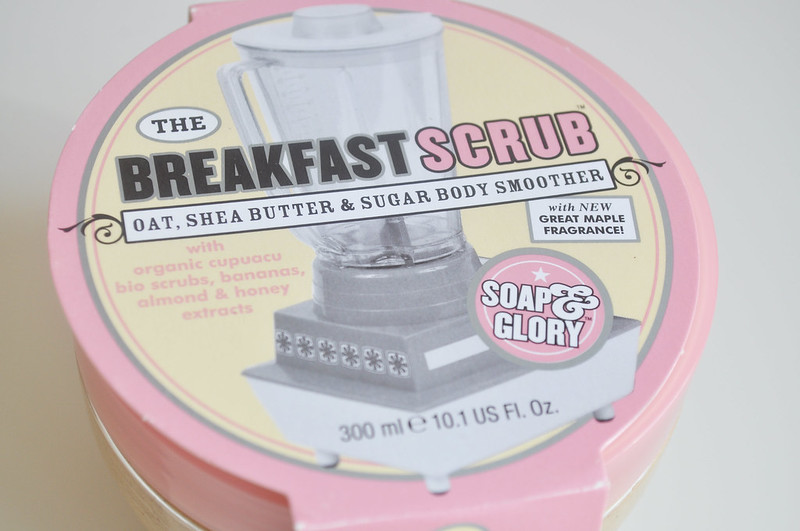 soap and glory breakfast scub 1