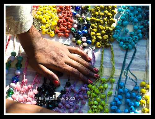 the bead seller_