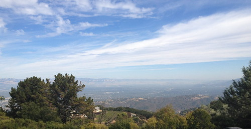 View from Monte Bello Mountain