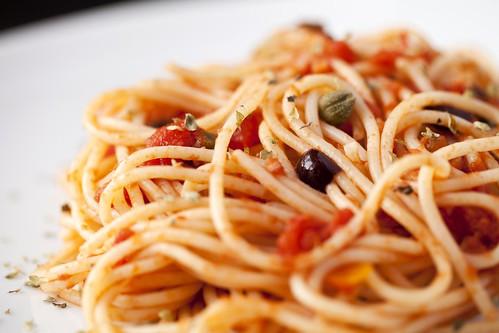 Spaghetti alla puttanesca 1