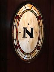 Leaded Panel Door