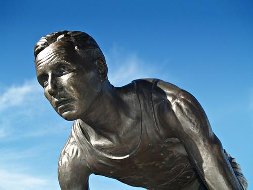 Percy Williams Statue