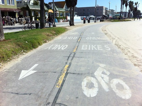 bike path Venice Beach