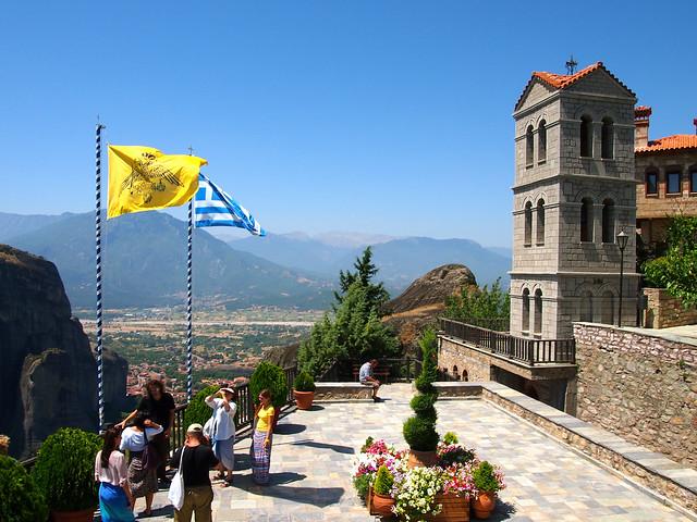 Holy Monastery of Varlaam in Meteora, Greece