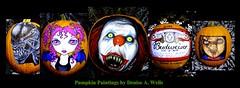 Halloween Facebook Banner -Pumpkin Paintings - Denise A ...
