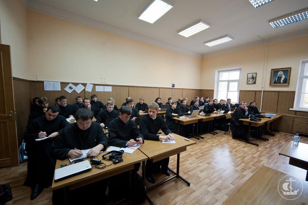3-4 октября 2012, Работа по секциям и итоговое пленарное заседание IV Международной научно-богословской конференции «Актуальные вопросы богословских исследований»