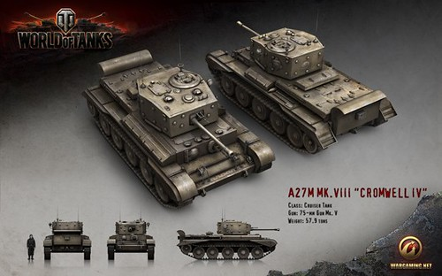 World of Tanks Gets British Tanks in Patch 8.1