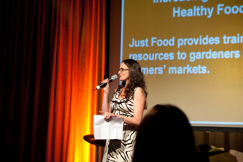 Jacquie Berger, Executive Director of Just Food