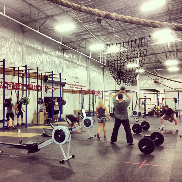 Tonight! #crossfit