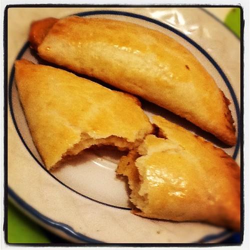 Sexta clase: empanaditas de manjar :)!!